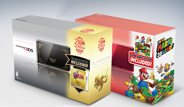 two limited-edition Nintendo 3DS™ bundles 11-2011