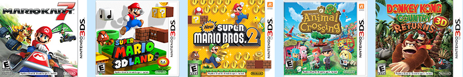 Five great Nintendo 3DS games are getting a new lower price