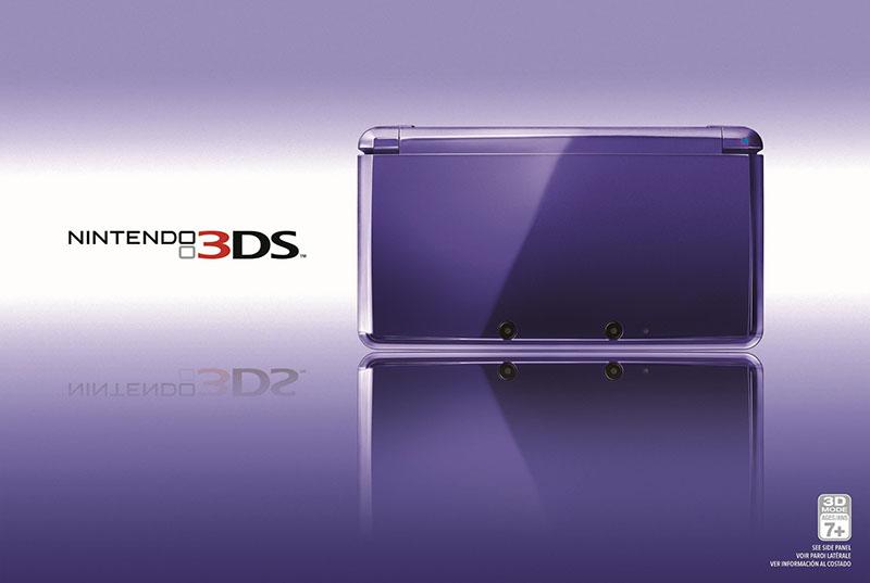 Midnight Purple Nintendo 3DS Promo