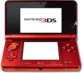 Nintendo 3DS (red)