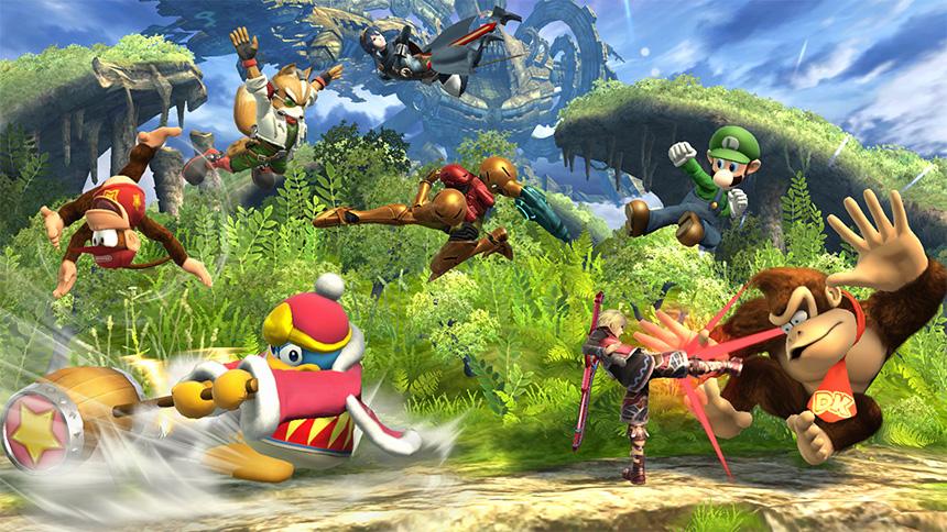 Super Smash Bros. for Wii U - 8-Player Smash