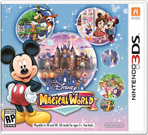 Disney Magical World, for the Nintendo 3DS system