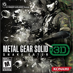 METAL GEAR SOLID® Snake Eater 3D demo