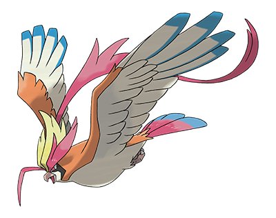 New Mega-Evolved Pokémon: Mega Pidgeot