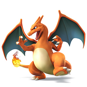 this fire-breathing Pokémon is now a selectable character