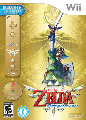 The Legend of Zelda: Skyward Sword - Box Art Bundle