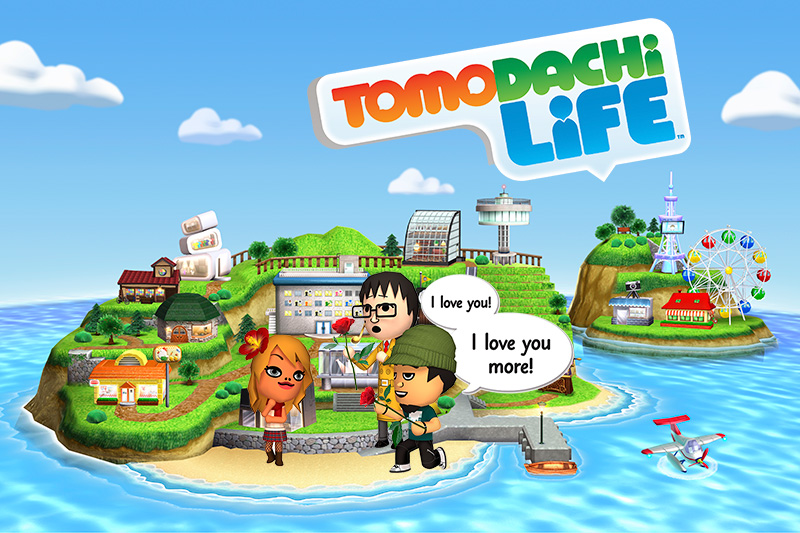 Tomodachi Life for the Nintendo 3DS system