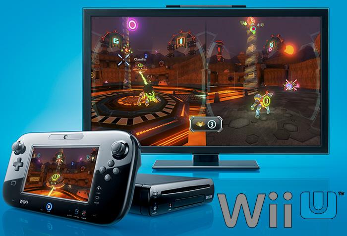 Wii U™ home console promo