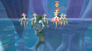 The Legend of Zelda™: Skyward Sword - Lake Floria and the Parella Tribe