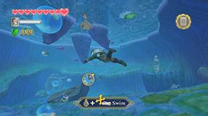 The Legend of Zelda™: Skyward Sword - Swimming