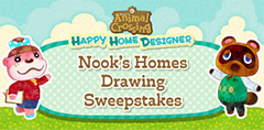 Miiverse Nook's Homes Drawing Sweepstakes