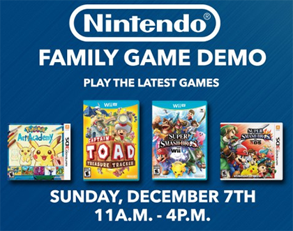 Nintendo and Best Buy's Family Game Demo