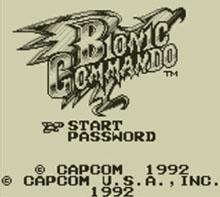 BIONIC COMMANDO™