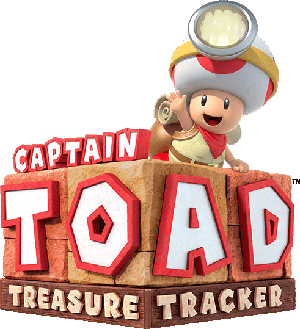 Captain Toad: Treasure Tracker logo