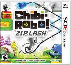 Chibi-Robo! Zip Lash box art