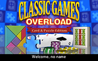 Classic Games Overload: Card & Puzzle Edition