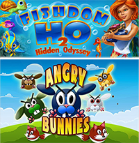Cypronia Games Sale - Fishdom H20 and Angry Bunnies