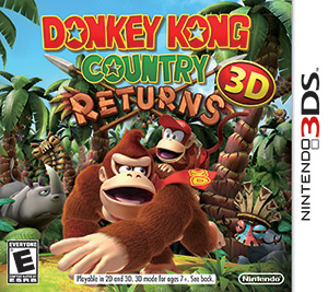 Donkey Kong Country Returns 3D Box