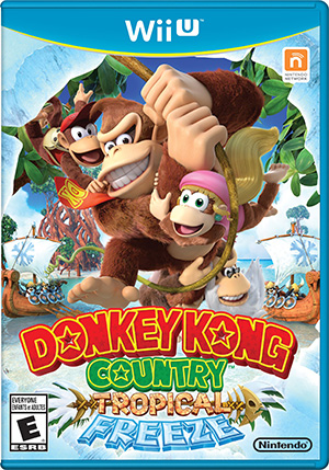Donkey Kong Country™: Tropical Freeze Box Art
