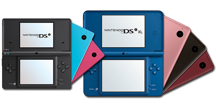 Nintendo DSi and Nintendo DSi XL