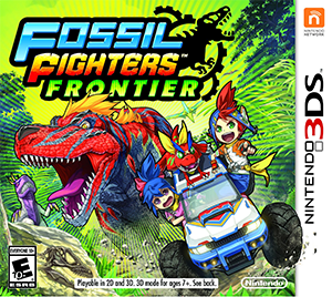 Fossil Fighters: Frontier Box Art
