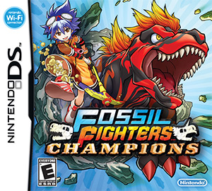 Fossil Fighters™: Champions Box Art