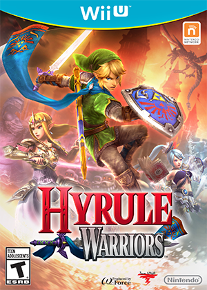 Hyrule Warriors box art