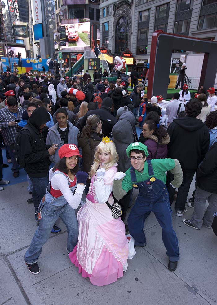 Super Mario 3D Land Launch Event