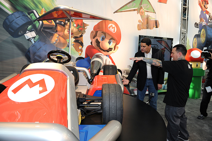 West Coast Customs Builds Karts Based on Nintendo's Mario Kart