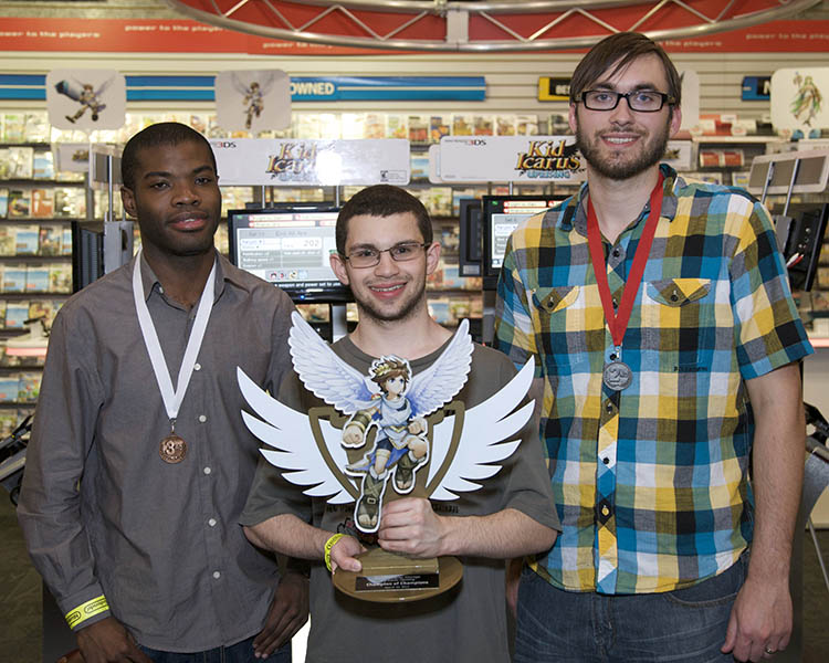 Kid Icarus: Uprising tournament NY Winner