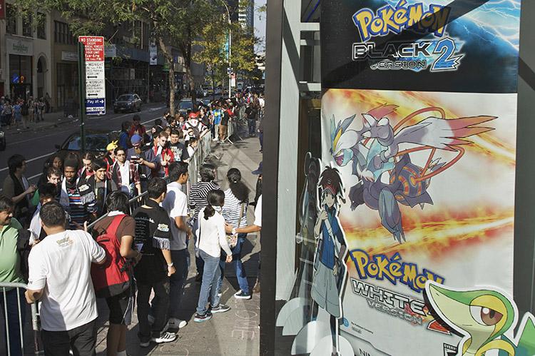 Pokémon Black Version 2 and White Version 2 Launch Event 1
