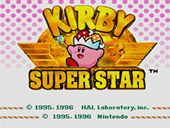 Kirby Super Star™