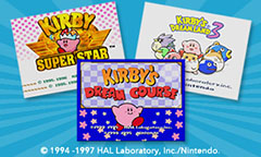 3 Classic Kirby™ titles for Wii U