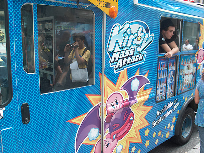 Kirby Snack Attack truck