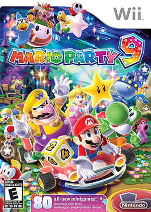 Mario Party™ 9 Box Art