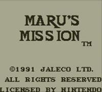 Maru's Mission™