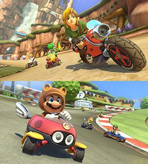 DLC Pack 1: The Legend of Zelda  X  Mario Kart 8 - Pack 2: Animal Crossing  X  Mario Kart 8