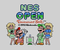 NES Open Tournament Golf™