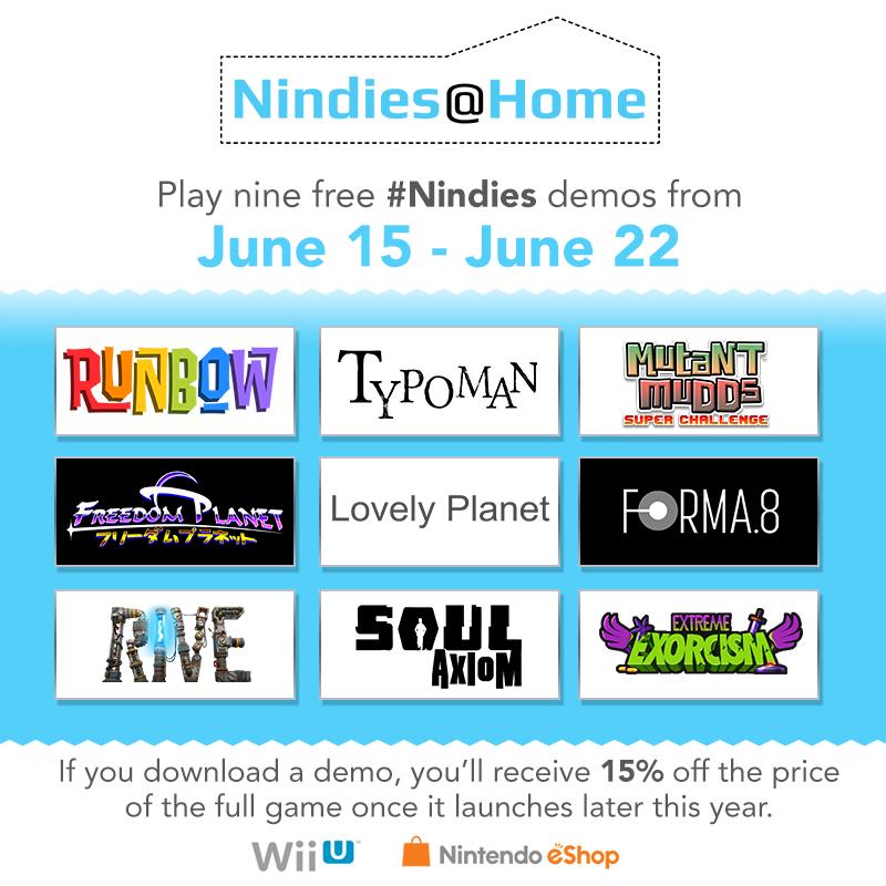 Nindies@Home titles gfx