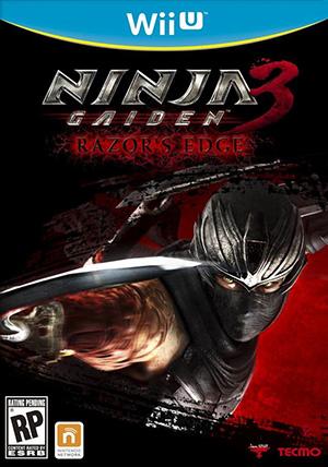 NINJA GAIDEN™ 3: Razor's Edge pre-release box art