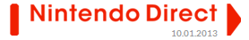 Nintendo Direct Oct 01, 2013