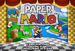 Paper Mario Wii U VC