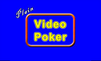 Plain Video Poker