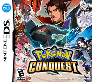 Pokemon Conquest Box Art