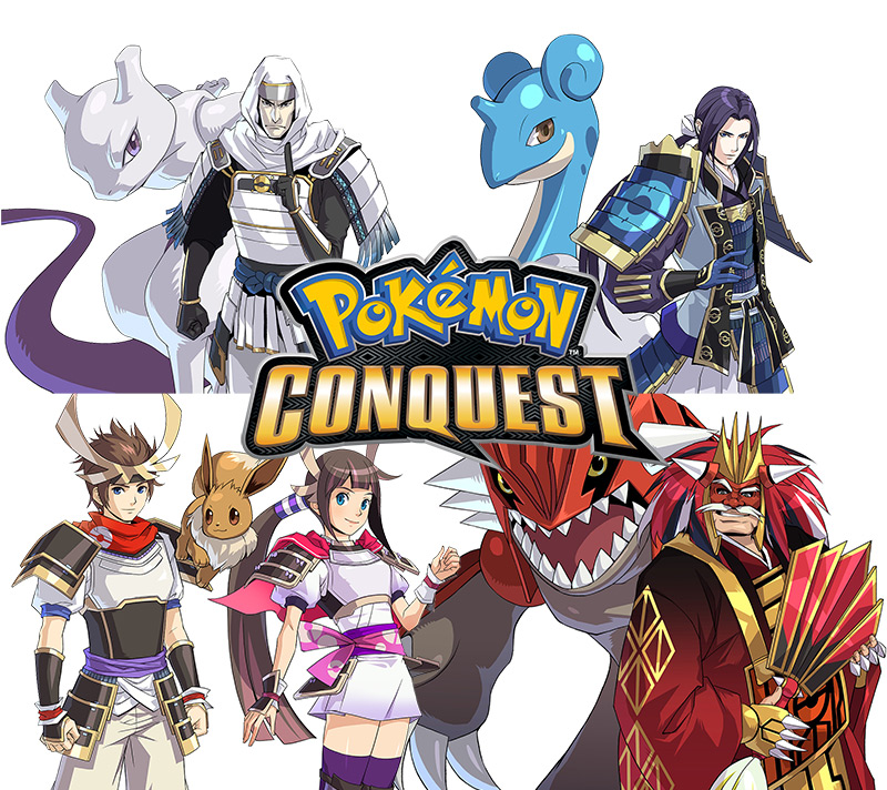 Pokemon Conquest promo 20120404