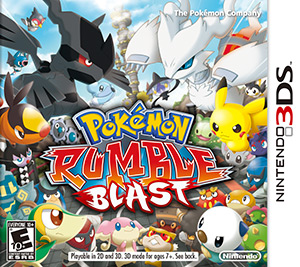 Pokémon™ Rumble Blast Box Art