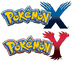 Pokémon X and Pokémon Y logo