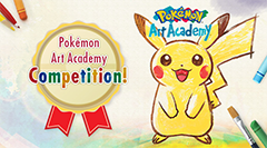 Pokémon Art Academy Competition