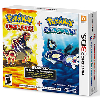 Pokémon Omega Ruby and Pokémon Alpha Sapphire Dual Pack