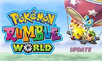 Pokémon Rumble World Update